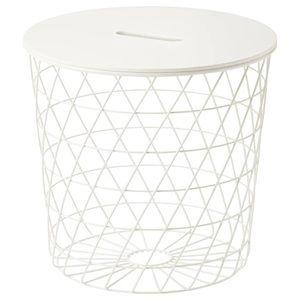 IKEA KVISTBRO Basket - White